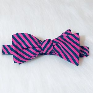 *HOLD* Striped bow tie